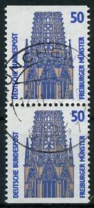 BRD ZUSAMMENDRUCK Nr 1340C + 1340D zentrisch gestempelt SENK 93A57A