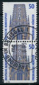 BRD ZUSAMMENDRUCK Nr 1340C + 1340D zentrisch gestempelt SENK 93A592