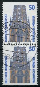 BRD ZUSAMMENDRUCK Nr 1340C + 1340D zentrisch gestempelt SENK 93A596