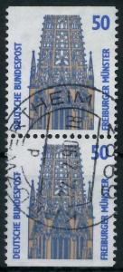 BRD ZUSAMMENDRUCK Nr 1340C + 1340D zentrisch gestempelt SENK 93A5AE