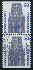 BRD ZUSAMMENDRUCK Nr 1340C + 1340D zentrisch gestempelt SENK 93A5B6