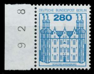 BERLIN DS BURGEN U. SCHLÖSSER Nr 676 postfrisch SRA 94102A