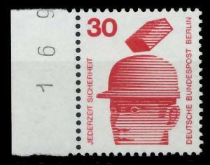 BERLIN DS UNFALLV Nr 406 postfrisch SRA 94103E