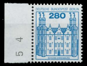BERLIN DS BURGEN U. SCHLÖSSER Nr 676 postfrisch SRA 94104A