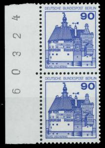 BERLIN DS BURGEN U. SCHLÖSSER Nr 588 postfrisch SENKR P 94104E