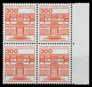 BERLIN DS BURGEN U. SCHLÖSSER Nr 677 postfrisch VIERERB 941052