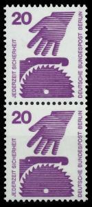 BERLIN DS UNFALLV Nr 404 postfrisch SENKR PAAR 941076