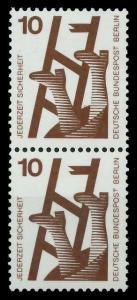 BERLIN DS UNFALLV Nr 403 postfrisch SENKR PAAR 9410BE