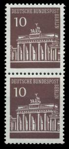BERLIN DS BRAND. TOR Nr 286 postfrisch SENKR PAAR 9410D6