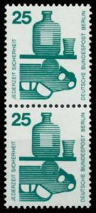 BERLIN DS UNFALLV Nr 405 postfrisch SENKR PAAR 9410E2