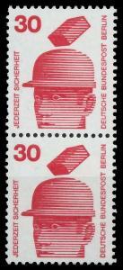 BERLIN DS UNFALLV Nr 406 postfrisch SENKR PAAR 9410E6