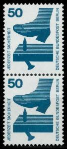 BERLIN DS UNFALLV Nr 408 postfrisch SENKR PAAR 9410F2