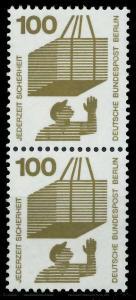 BERLIN DS UNFALLV Nr 410 postfrisch SENKR PAAR 9410FA