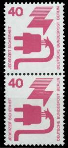 BERLIN DS UNFALLV Nr 407 postfrisch SENKR PAAR 9410FE