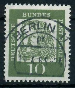 BERLIN DS BED. DEUTSCHE Nr 202 zentrisch gestempelt 94113E