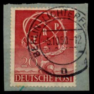 BERLIN 1950 Nr 71 zentrisch gestempelt Briefst³ck 72542A
