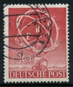 BERLIN 1950 Nr 71 gestempelt 9739E6