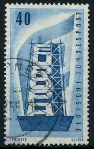 BRD 1956 Nr 242 gestempelt 973BCE