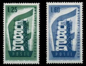 ITALIEN 1956 Nr 973-974 postfrisch 973BD6