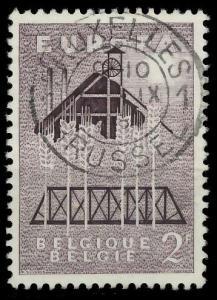 BELGIEN 1957 Nr 1070 zentrisch gestempelt 97D4FE