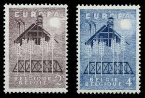 BELGIEN 1957 Nr 1070-1071 postfrisch 97D506