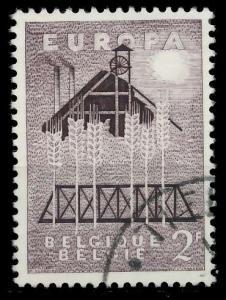 BELGIEN 1957 Nr 1070 gestempelt 97D50A