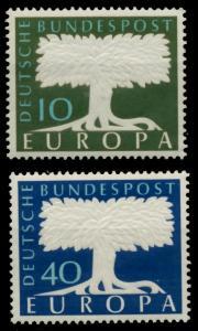 BRD 1957 Nr 268-269 postfrisch S9F0DEE