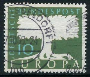 BRD 1958 Nr 294 gestempelt 97D53E