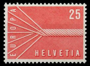SCHWEIZ 1957 Nr 646 postfrisch 97D672