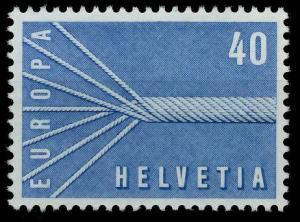 SCHWEIZ 1957 Nr 647 postfrisch 97D676