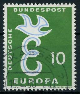 BRD 1958 Nr 295 gestempelt 97D6BE