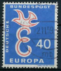 BRD 1958 Nr 296 gestempelt 97D6C2