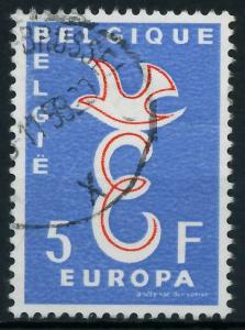 BELGIEN 1958 Nr 1118 gestempelt 98265E