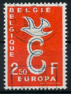 BELGIEN 1958 Nr 1117 gestempelt 982666