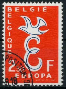 BELGIEN 1958 Nr 1117 gestempelt 98266A