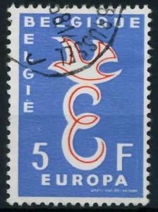 BELGIEN 1958 Nr 1118 gestempelt 98267A