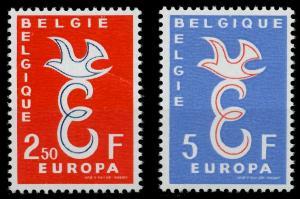 BELGIEN 1958 Nr 1117-1118 postfrisch 98267E