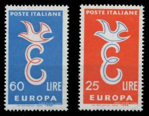 ITALIEN 1958 Nr 1016-1017 postfrisch 9826CE