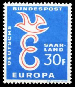 SAAR OPD 1958 Nr 440 postfrisch S9F1096