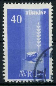 TÜRKEI 1958 Nr 1611 gestempelt 98275E