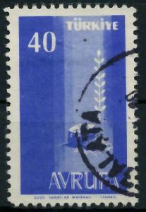 TÜRKEI 1958 Nr 1611 gestempelt 98276A