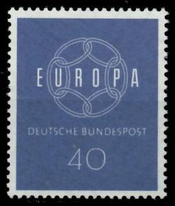 BRD BUND 1959 Nr 321 postfrisch 9A2AA6