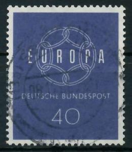 BRD BUND 1959 Nr 321 zentrisch gestempelt 9A2ABE