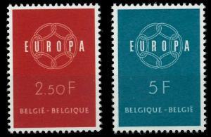 BELGIEN 1959 Nr 1164-1165 postfrisch 9A2AD2