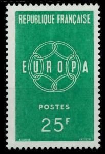 FRANKREICH 1959 Nr 1262 postfrisch 9A2AE6