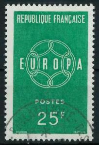 FRANKREICH 1959 Nr 1262 gestempelt 9A2AEE