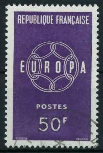 FRANKREICH 1959 Nr 1263 gestempelt 9A2AF2