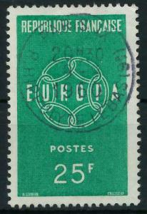 FRANKREICH 1959 Nr 1262 zentrisch gestempelt 9A2AFE