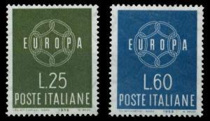 ITALIEN 1959 Nr 1055-1056 postfrisch 9A2B1A