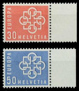 SCHWEIZ 1959 Nr 679-680 postfrisch 9A2B92